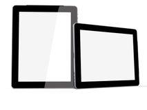 Tablet PC vertikal and horizontal Royalty Free Stock Photography