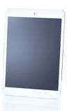 Tablet pc on white background. Picture of tablet pc on white background Royalty Free Stock Image