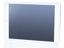 Tablet pc on white background. Picture of tablet pc on white background Stock Photography