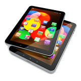 Tablet PC on white Royalty Free Stock Image