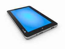 Tablet PC on white isolated background Royalty Free Stock Images