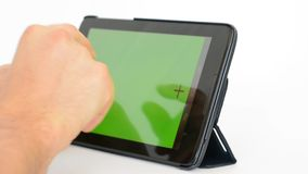 Tablet pc stock footage