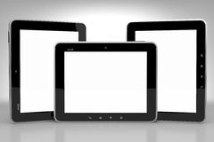 Tablet PCs set Stock Photo