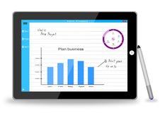 Tablet pen business Stock Photos