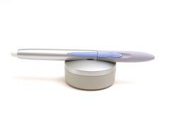 Tablet pen & holder Royalty Free Stock Images