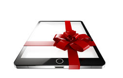 Tablet present Royalty Free Stock Images