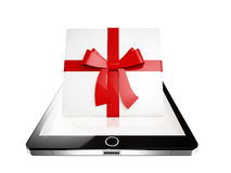 Tablet present Stock Photos