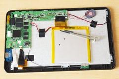 Tablet-Reparatur Lizenzfreies Stockbild