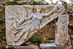 Tablet ruin in Ephesus. Turkey Royalty Free Stock Images