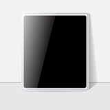 Tablet screen, white case. Vector Royalty Free Stock Photo