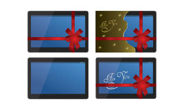 Tablet Set Stock Photography