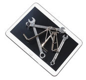 The Tablet Stock Image
