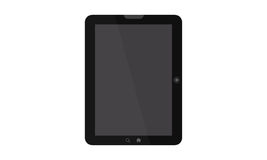 Tablet shown Royalty Free Stock Image