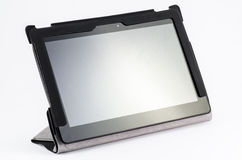 Tablet with slim cover Royalty Free Stock Photos