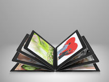 Tablet streaming images Stock Photos