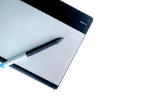 Tablet and stylus Stock Photos