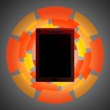 Tablet, Telefon 5 Stockfoto