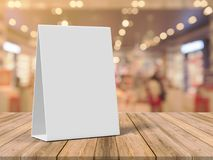 Tablet Tent Talkers Promotional Menu cards white blank Empty for mock up design and templates 3d rendering. Tablet Tent Talkers Promotional Menu cards white stock images