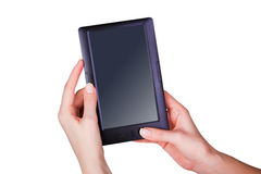 Tablet touch computer Stock Images