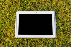 Tablet Touch Screen Royalty Free Stock Photography