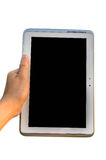 Tablet with Touch Screen Royalty Free Stock Images