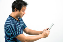 Tablet using Royalty Free Stock Image