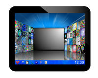 Tablet 20.05.13 Royalty Free Stock Image