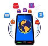 Tablet voor Internet Royalty-vrije Stock Fotografie
