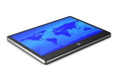 Tablet on white background Stock Photos