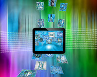 Tableta Imagen de archivo libre de regalías