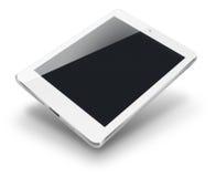 Tableta con la pantalla negra Imágenes de archivo libres de regalías