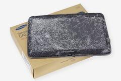 Tableta de la galaxia de Samsung en la reparación Fotografía de archivo libre de regalías