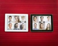 Tableta de la PC imágenes de archivo libres de regalías