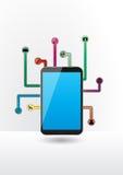 Tableta de las multimedias Imagen de archivo libre de regalías