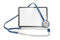 Tableta de los doctores foto de archivo