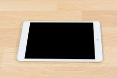 Tableta digital blanca Imagenes de archivo