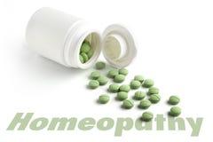 Tableta homeopática Imagen de archivo libre de regalías