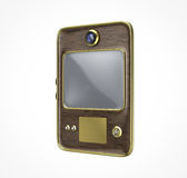 Tableta retra vieja del vintage Fotografía de archivo