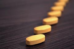 Tabletas de la droga Imagenes de archivo