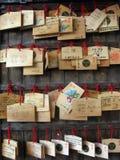 Tabletas del rezo Imágenes de archivo libres de regalías