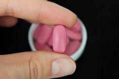 Tabletas. Vitaminas. Suplemento dietético Imágenes de archivo libres de regalías
