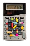 Tabletas y calculadoras Fotos de archivo