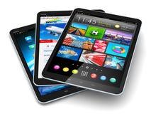Tabletcomputers Royalty-vrije Stock Afbeeldingen