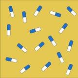 tabletek szereg przedsiębiorstw tło Zdjęcie Stock
