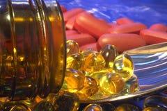 tabletki Fotografia Stock