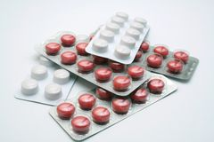 tabletki Zdjęcia Stock