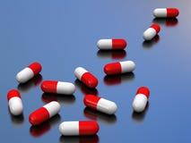 tabletki 3 d ilustracji