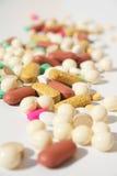tabletki palowe rozlewać Fotografia Royalty Free