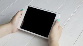 Tabletmodel Stock Fotografie
