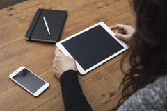 Tabletmodel Stock Afbeeldingen